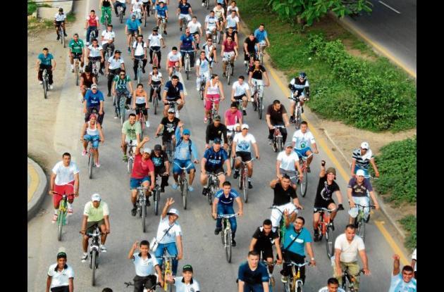 ciclo paseo en Montería
