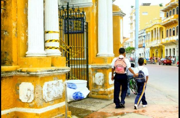 Empiezan obras de recuperación en el Parque del Centenario de Cartagena.