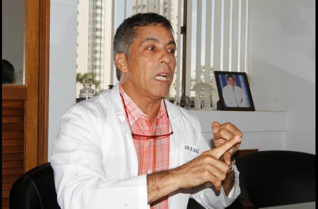 Cirujano plástico Onofre Ballestas  Campo