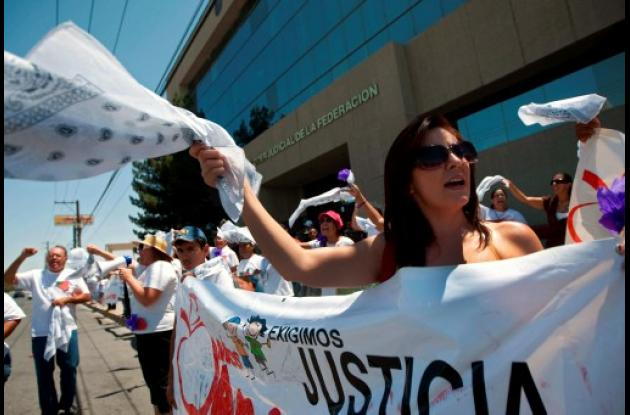 México: siguen protestas por violencia en Ciudad Juárez.