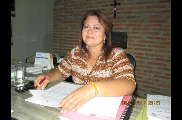 Clara Calderón Muñoz, directora de Valorización Distrital.