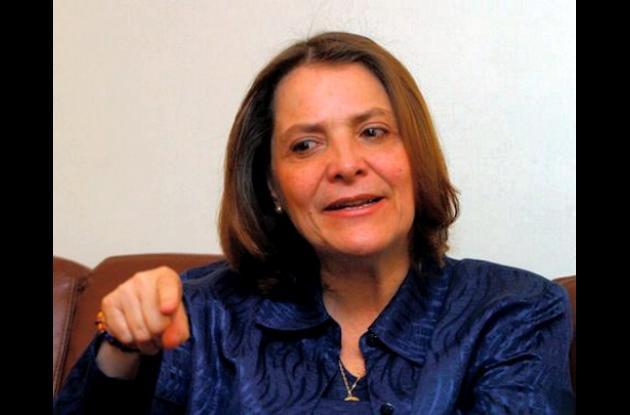 Clara López, presidenta del Polo Democrático.