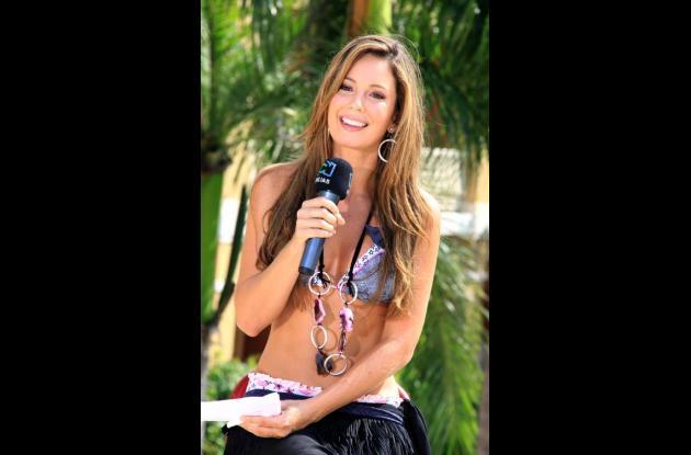Claudia Bahamón dice vivir apasionada por el medio ambiente.