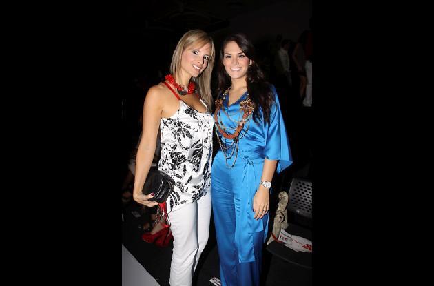 Claudia Insignares y Angélica Romero.