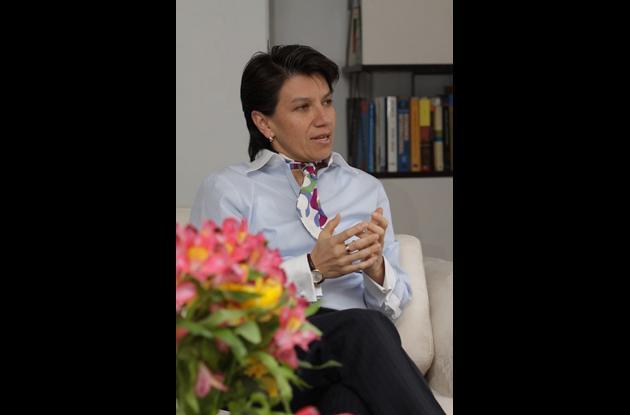Claudia López, analista política.