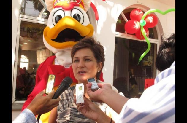 Claudia Muriel, gerente nacional de Restaurantes de Frisby.