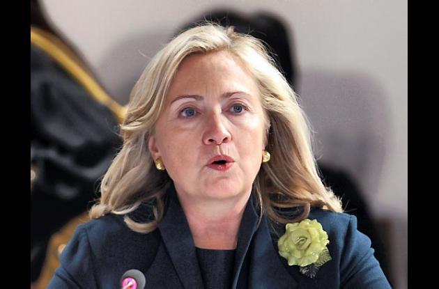 Hillary Clinton, secretaria de estado norteamericano