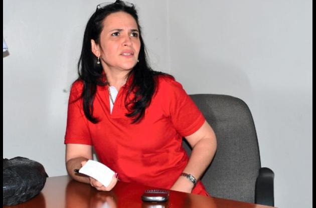 Arlet Casado, senadora liberal.