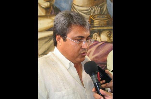 León Fidel Ojeda, presidente del directorio de Cambio Radical.