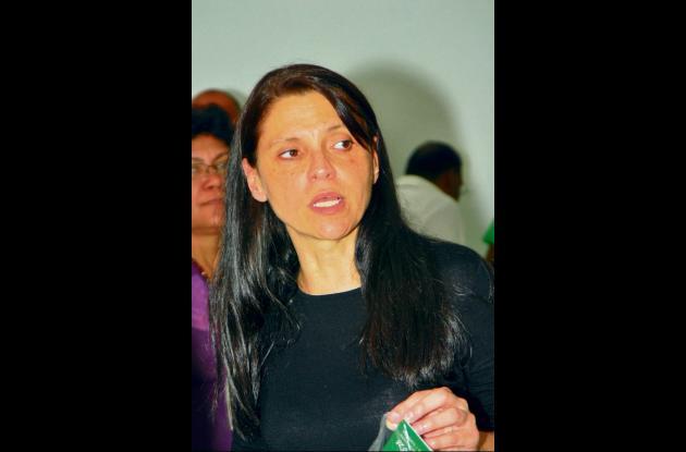 Zulema Jattin Corrales, ex senadora cordobesa.