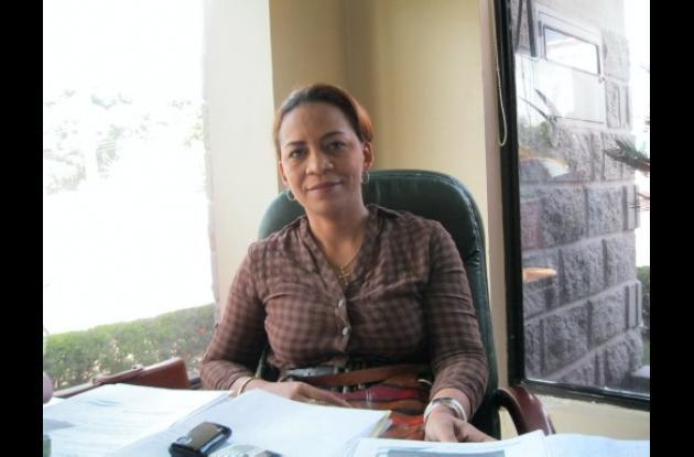 Eva Carmona, alcaldesa de Los Córdobas.