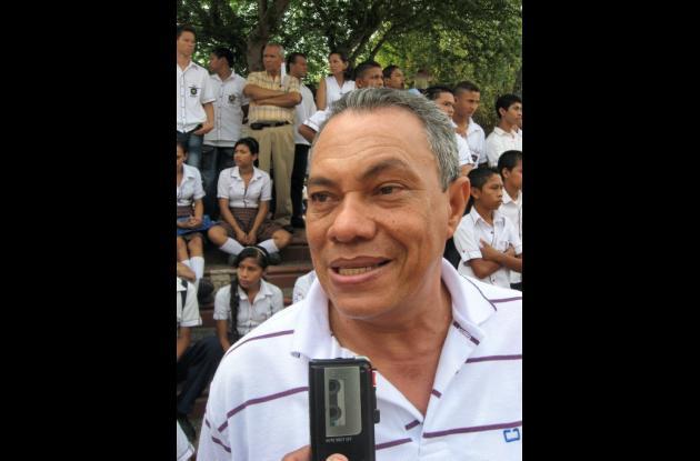 Rector Daniel Bula.
