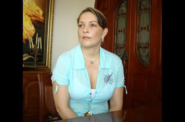 Eleonora Pineda, exrepresentante.