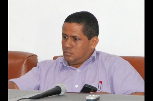 Aldrin Pinedo, concejal de Montería.