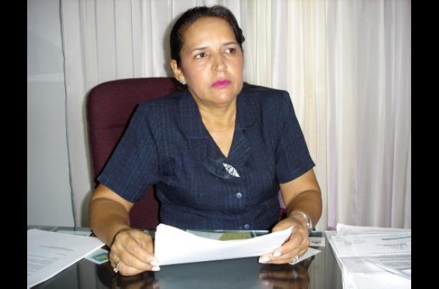 Carmen Alicia Rubio, nueva procuradora judicial.