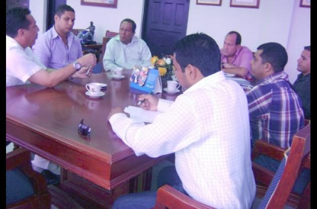 Consejo de seguridad con autoridades de Cereté.