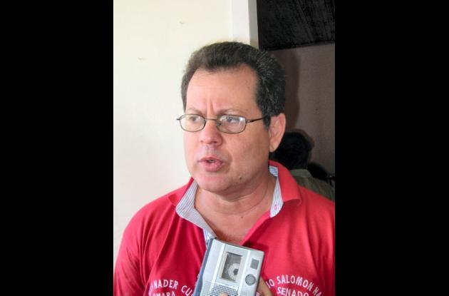 Mario Salomón Náder, exsenador liberal.