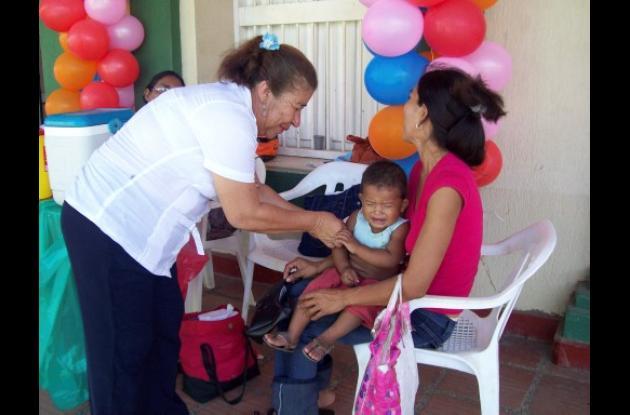 Córdoba no cumplió la meta de vacunación.