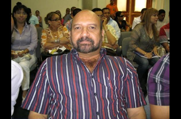 Plinio D'Paola, alcalde de Ciénaga de Oro.