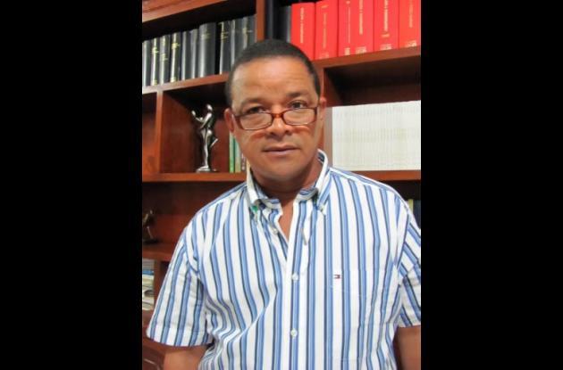 Remberto Pérez Núñez, abogado del alcalde de Lorica.