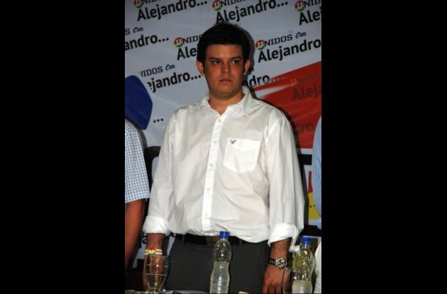 Alejandro Lyons Muskus, candidato a la Gobernación.