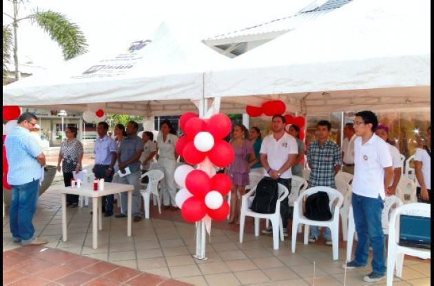 Córdoba celebró el día del donante de sangre.