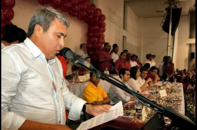 León Fidel Ojeda, director de Cambio Radical