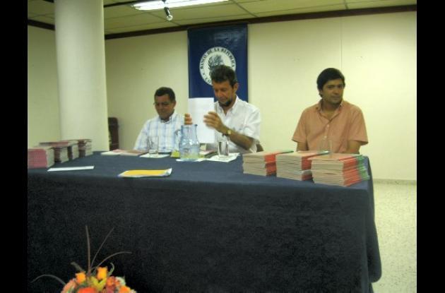 Danith Urango Tuirán y Henry Ballesteros presentaron sus nuevos libros