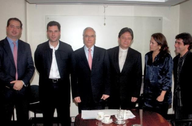 alcaldes de la Costa entre ellos el de Montería, Marcos Daniel Pineda