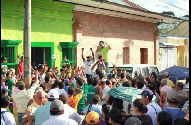 Milad Barguil se inscribió con el aval del Partido Verde.