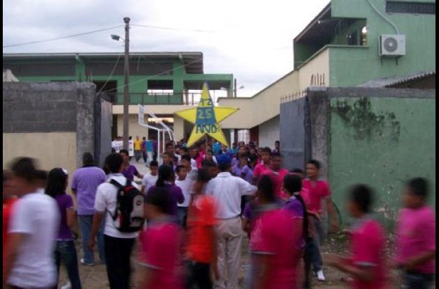 Barrio El Dorado de Montería donde reside Carlos Mario, el niño reciclador.