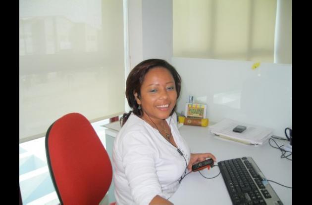 Nancy Narváez, jefe de gestión social de Electricaribe.