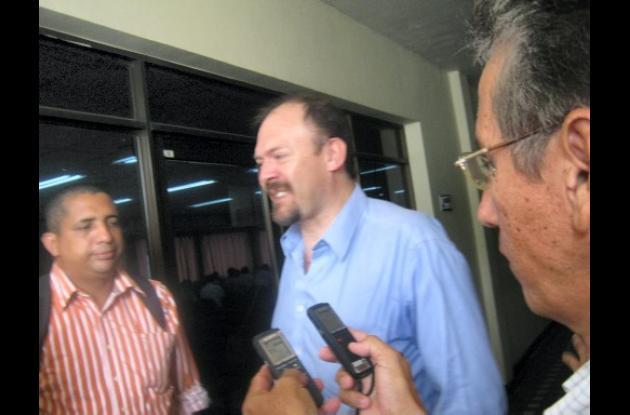 Rafael Suárez, delegado ante el Consejo de Estado.