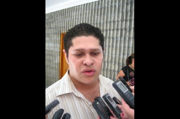 Diputado Orlando Benítez.