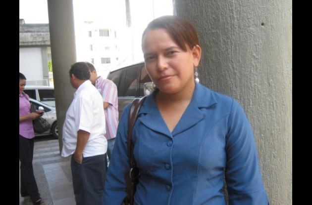 Claudia Yépez Jiménez, líder comunal