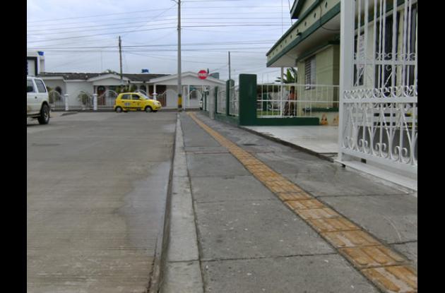 973 metros de vías han sido mejoradas en el programa de malla vial.