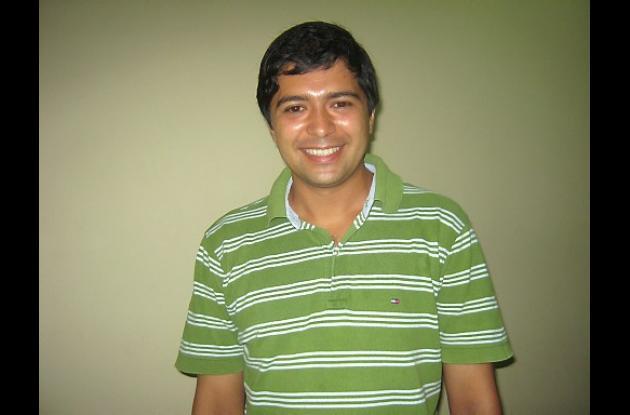 Henry Ballesteros, candidato a la Alcaldía por el Partido Verde.