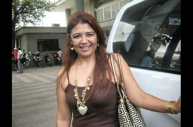 Rosa María Saleme, secretaria departamental de la Mujer.