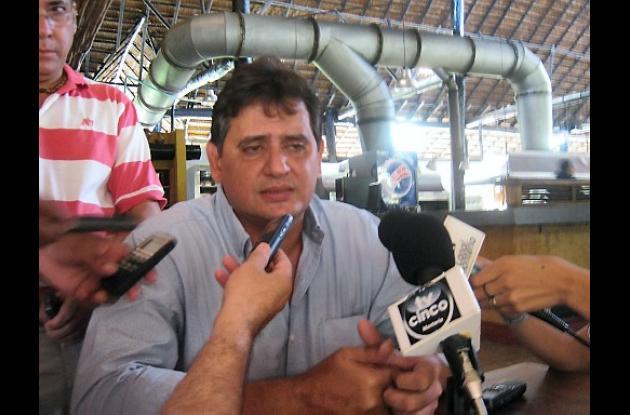 Mario Carrascal Náder, al-calde de Puerto Libertador.
