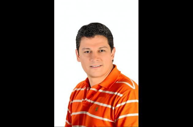 Daniel Cabrales, candidato a la Alcaldía.