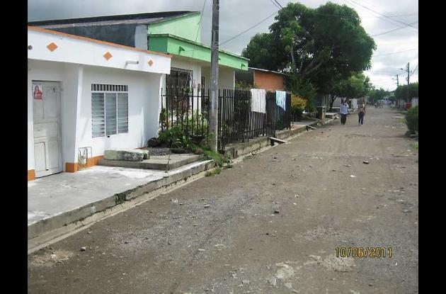 En este sector del barrio Santander hay dos casos confirmados de dengue.
