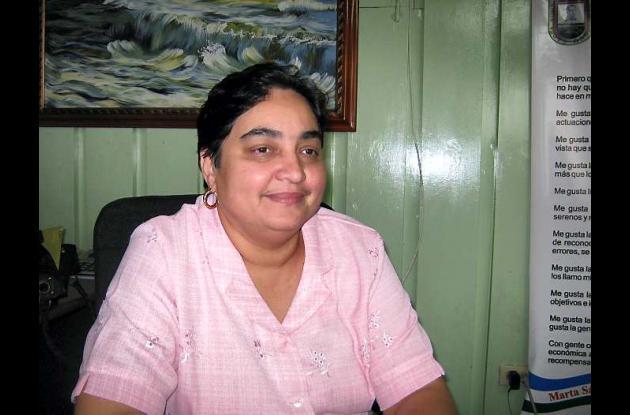Ángela Cuéter, secretaria de salud de Córdoba.