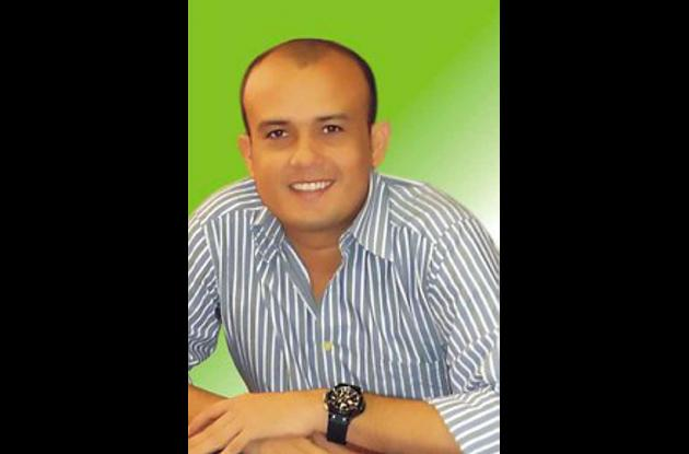 Jorge David Pastrana Sagre, candidato que hizo la denuncia.