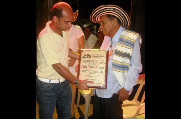 Hoy será sepultado el maestro Pablo Flórez en Ciénaga de Oro.
