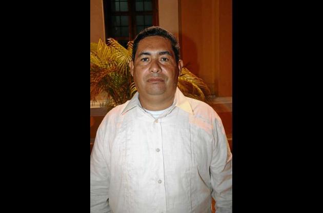 Donaldo Espitia, director de Imder.
