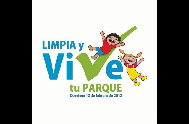 Afiche promocional de la campaña de limpieza de parques.