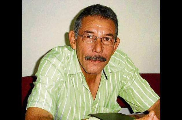 Álvaro Vélez, secretario de derechos humanos del sindicato.