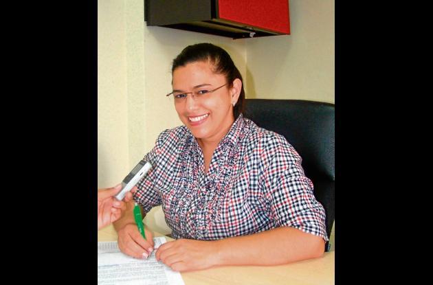 Luz Amparo Salcedo, directora de turismo.