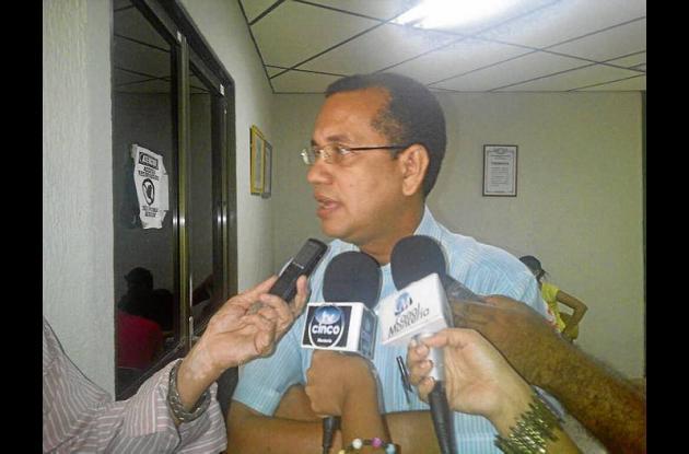 Rafael Cogollo, representante de los profesores.