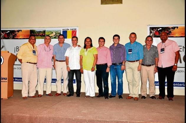 Gobernadores y Alcaldes de la región Caribe.